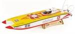 DRAGON MINI CAT 860EP 70A BOAT (R/C READY)