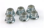 FLANGE LOCK NUT M4 (6)