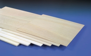 300 x 600 x 2mm(3/32)LIGHT PLY