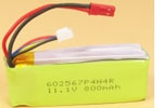 6600292 TWISTER SKYLIFT/POLICE LI-POLY 11.1V 800mah PACK