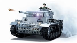 4400704 PANZER III TANK GREY WITH 6mm SHOOTER RTR
