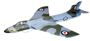 WW33 Hawker Hunter Ducted Fan 278ins Span