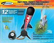 Rocket Star Air Rocket Party Pack 12 pk