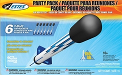 T-Bolt Air Rocket Party Pack 6 pk