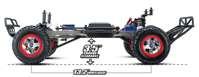 Slash XL-5 OBA Ground Clearance