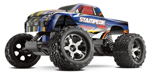 Stampede 2WD VXL Brushless - 24GHz TQi wChgr C-TRX36076-3