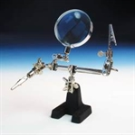 5532955 HELPING HAND WITH GLASS MAGNIFIER