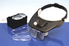 5533140 HEADBAND MAGNIFIER + 4 LENSES LC1764