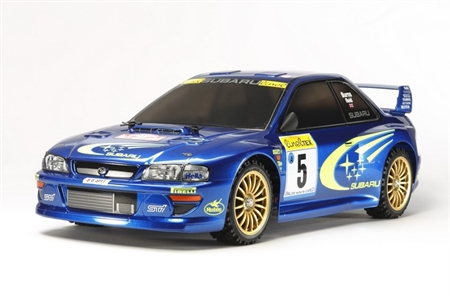 Tamiya TT-02 Subaru Impreza Monte Carlo '99 1/10th with ESC