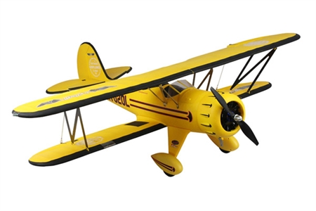 Waco WMF-5C Yellow Bi-Plane 1270mm - PNP