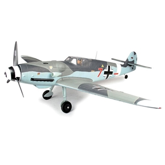 DYNAM MESSERSCHMITT BF-109 WITH RETRACTS 1270MM - ARTF