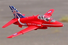 FMS 1042MM BAE HAWK RED ARROWS 80MM EDF - ARTF