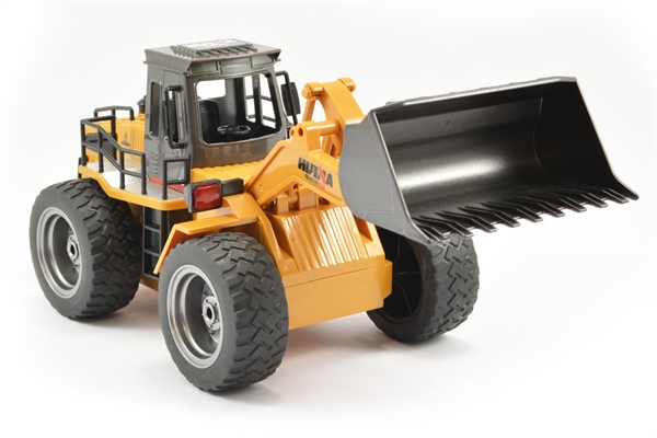 Huina 1/18 RC Bulldozer With Diecast Bucket - 6CH 2.4GHZ
