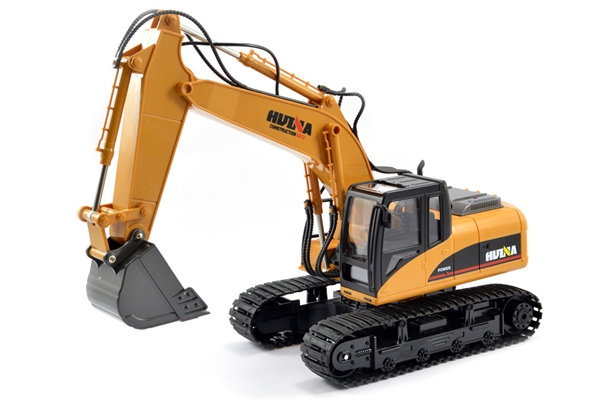 Huina 1/14 RC Excavator With Diecast Bucket - 15CH 2.4GHZ