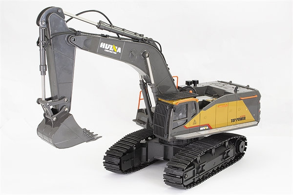 Huina 1/14 RC Excavator with Diecast Cab and Bucket - 22CH 2.4GHZ