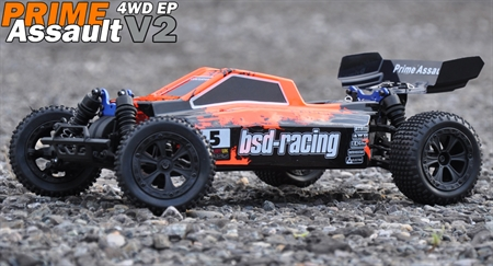 BSD Racing Prime Assult 1/10 offroad Buggy