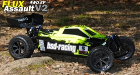BSD Racing Flux Assult 1/10 Off-Road Buggy