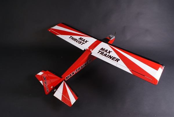 Max Thrust Pro-Build Balsa Trainer - 32-40 I/C or Electric