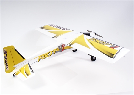 Max-Thrust Riot V2 RTF - Yellow (2.4GHZ Radio & 11.1v Batt)