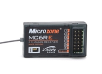 MICROZONE MC6RE 6 CHANNEL RECEIVER WExternal AERIAL FOR BOATS
