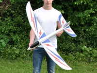 THE BOLT HAND LAUNCH GLIDER 12M