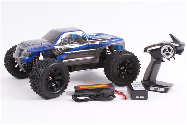 Expedition 1/10 4WD Monster Truck RTR - Brushless (Blue)