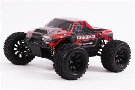 Expedition 1/10 4WD Monster Truck RTR - Brushless (Red)