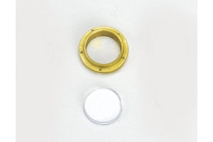 Brass Flanged Portholes (10) - 10mm
