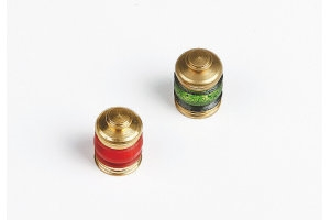 Position Lamps (1 Red, 1 Green) - 12x18.5mm