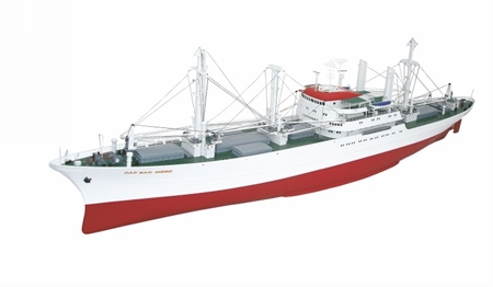 Cargo Ship Cap San Diego, Scale 1 : 100, Premium Line - Last Run - Limited Stock!
