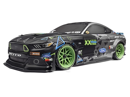 RS4 SPORT 3 VGJR FORD MUSTANG 1/10 4WD ELECTRIC CAR #115984