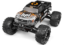 HPI Savage X 46 with 24GHz NitroGT-3 Truck Body GreyRed 109083