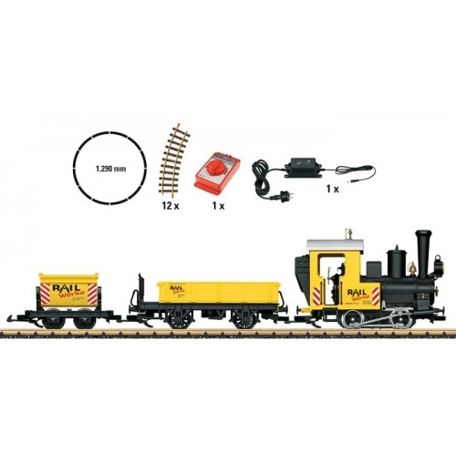 LGB 78503 Marklin G (Narrow Gauge) Garden Railway Construction Site Train Starter Set