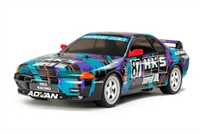 Tamiya RC HKS Skyline GT-R GRA - TT-01E With ESC