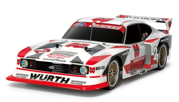 Tamiya RC FORD ZAKSPEED TURBO CAPRI - Tt02 Gr.5 Wurth - 58578