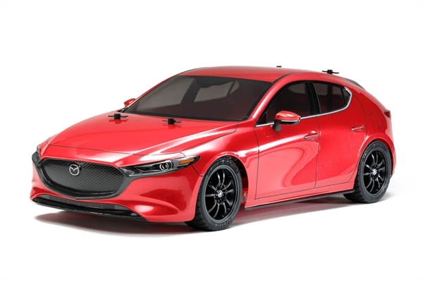 Tamiya RC Mazda 3 - TT02 With ESC - 58671