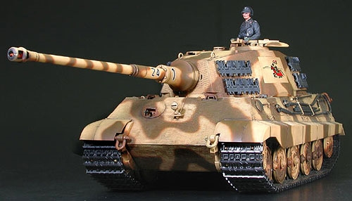 RC King Tiger Product. Turret - Full Option Kit
