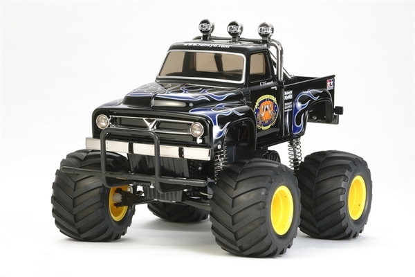 58547 Tamiya RC Midnight Pumpkin Black Edition with ESC - 58547
