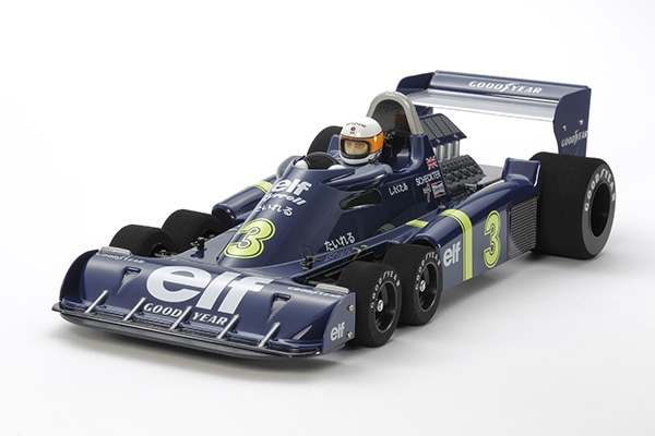 Tamiya RC Tyrrell P34 Six Wheeler - 1976 Japan GP Special Edition 47359