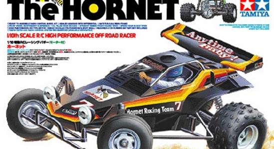 58336 Tamiya RC The Hornet - 1/10 Re-Release radio control buggy