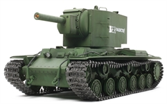 Tamiya Russian Heavy Tank KV-2 Gigant Full-Option Kit Item No:56030