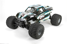 Monster Truck XL RTR AVC: 1/5th 4WD LOS05009T1