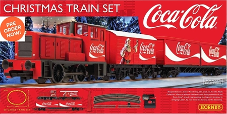 Coca-Cola Christmas Train Set R1233