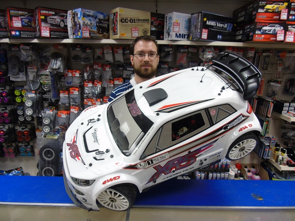 MCD XR5 Rally Cross 1/5th Scale 29cc ARTR Car