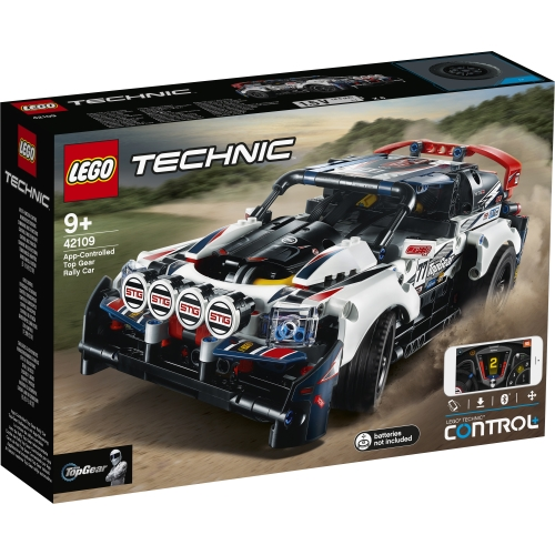 App-Controlled Top Gear Rally Car - 42109
