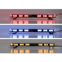 Lesu 1/14 Hazard Roof Light Bar (Blue)