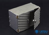 Lesu 114 Chequerplate Tool Box