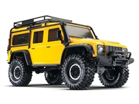 TRX-4 Crawler Land Rover Defender 110 Yellow Special Edition - TQiNo BattNo Chg