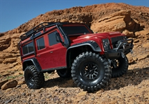 Traxxas TRX-4 1/10 Landrover Defender radio control RED