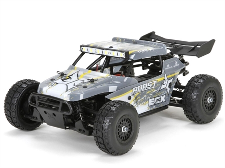 Roost 4WD Desert Buggy Grey/Yellow 1:18 RTR INT